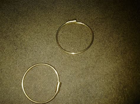 Self Piercing Sleeper Earrings 14k self piercing hoop earrings collectors weekly