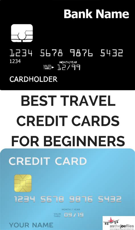 card for beginners four of the best travel credit cards for beginners