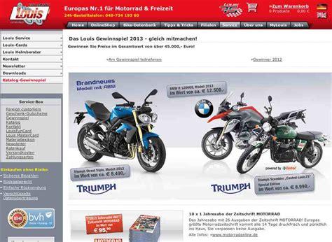 Motorrad Zeitschrift Louis Gutschein by Preise Im Wert Von 45 000 Euro Zu Gewinnen Beim Louis