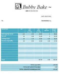 austrialian tax invoice templates images invoice