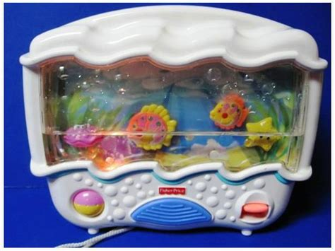 Crib Fish Tank by Fisher Price Wonders Aquarium Musical Lights Sounds