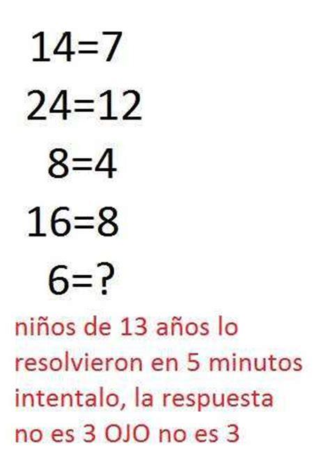 Imagenes De Trivias Matematicas   desafio a los taringueros acertijo preguntas trivia