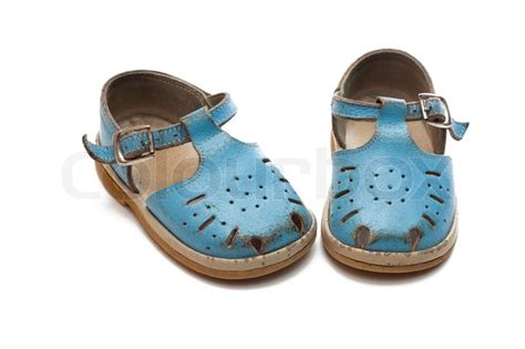 A Pair Of Childrens worn out children s pair of shoes stock photo colourbox