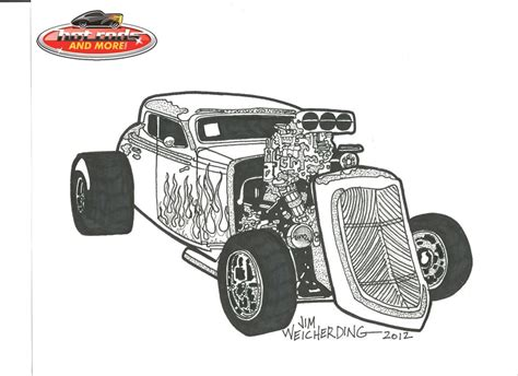 coloring pages hot rod cars hot rod car coloring pages colorine net 10044 kids