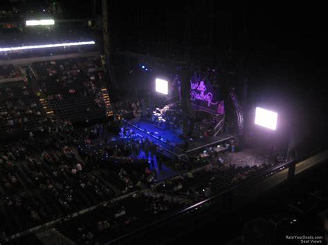 bridgestone arena seats bridgestone arena section 309 concert seating
