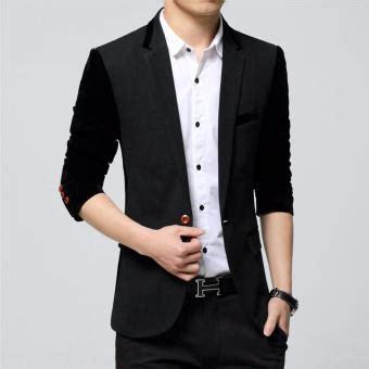 Jaket Jas Jas Pria Abu Abu jas pria kombinasi warna hitam abu abu blazer jacket