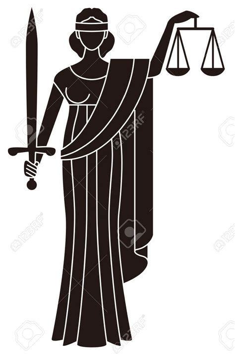 Interest Of Justice symbol of justice goddess of justice themis creative