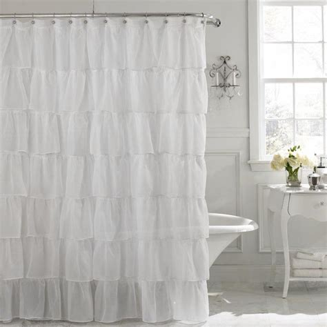 shower curtain lengths shower curtains longer length rumah minimalis