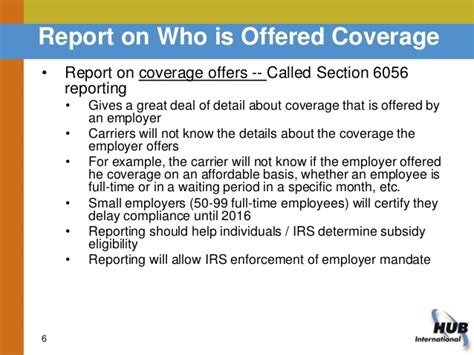 irs section 6056 health care reform reporting what you need to know to be