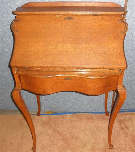 oak drop front desk b5527 for sale antiques com