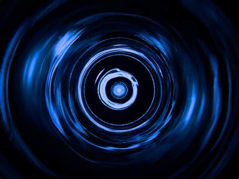wallpaper gelembung biru gambar abstrak spiral gelombang garis warna biru