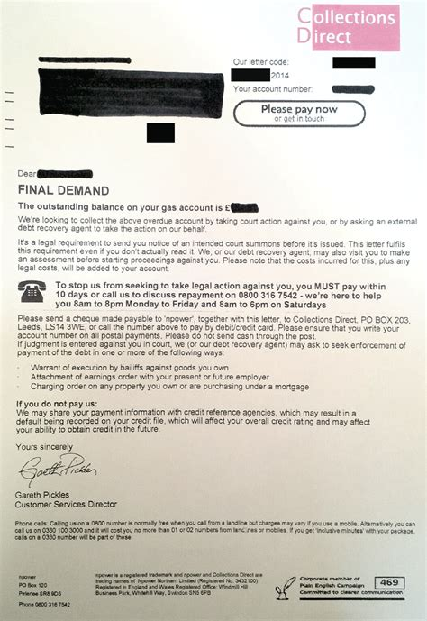 Halifax Credit Card Letter Halifax Lloyds Tsb And Natwest S Letters As Bad As Wonga S