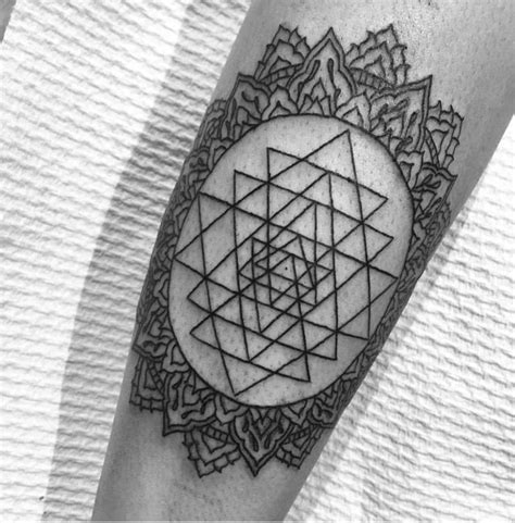 sri yantra tattoo best 20 yantra ideas on