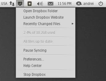 dropbox xfce icon script to install 9 different dropbox indicator icon sets
