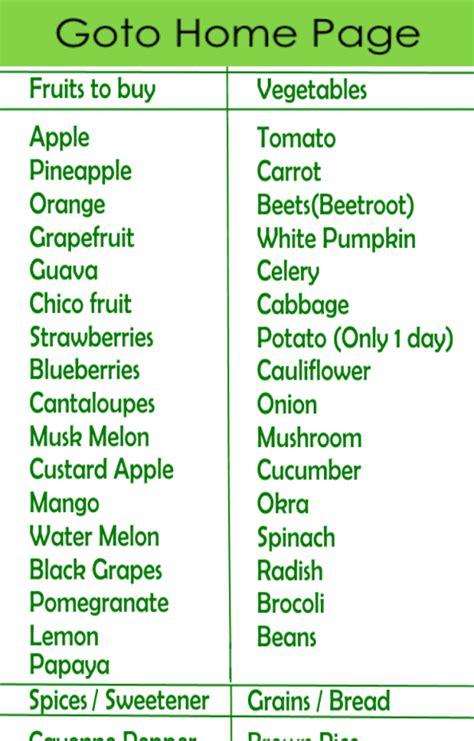 Gm Detox Diet Vegetarian by General Motors Weight Loss Diet Program For Vegetarian