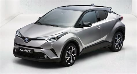 Toyota Crossover Vehicles 2017 Toyota C Hr Subcompact Crossover