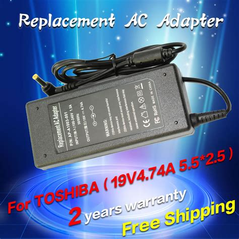 Adaptor Charger Laptop Toshiba Satellite L510 A200 L500 っ19v 4 74a 90w ac power 169 adapter adapter laptop charger