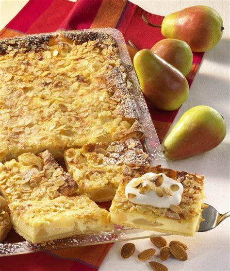 birnen schmand kuchen birnen schmand kuchen recipe rezepte and kuchen