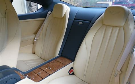 bentley continental interior back seat 2011 bentley continental gt editors notebook