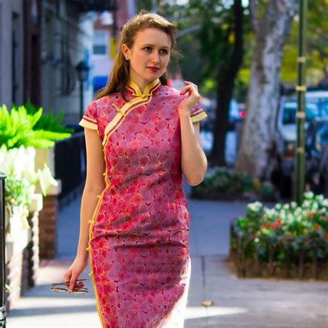 qipao pattern meaning 470 best western women in cheongsam images on pinterest