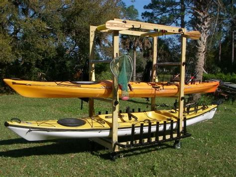 how to building wooden rack for kayak pdf plans