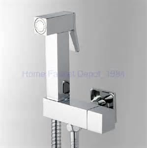 solid brass held bidet shower set toilet jet