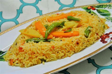 Rice L by Vegetable Tomato Rice Kamala S Corner