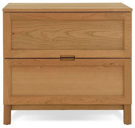 Solid Wood Lateral File Cabinet Jesper Highland Collection Solid Wood Lateral File Cherry Modern Filing Cabinets By