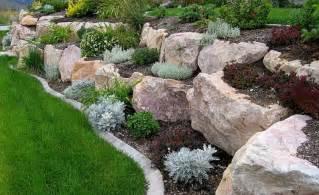 Rock Garden Beds Garden Beds With Small Shrubs Flowers Sun Plants Pepperr Li Free Gardening Flower And
