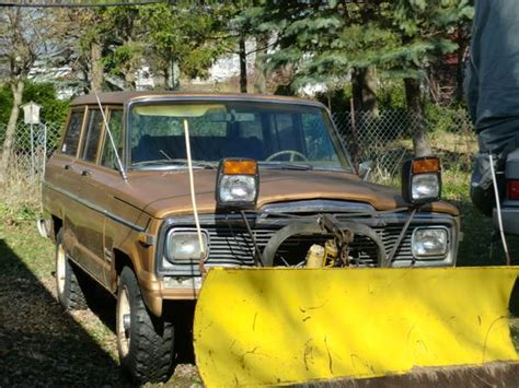 Jeeps For Sale Wisconsin 1984 Jeep Grand Wagoneer 258 I6 Auto For Sale In Milwaukee