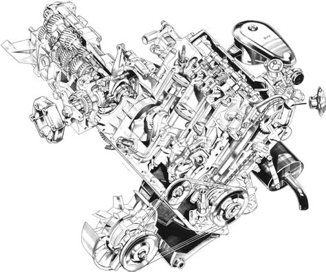 cool and exploded engine coloring book combustion engines to color books v8 engine drawings
