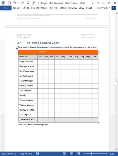 Project Plan Template Download Ms Word Excel Forms Spreadsheets Project Plan Template Microsoft Word