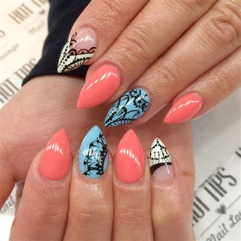 nails pattern psd 21 pointed nail art designs ideas design trends premium