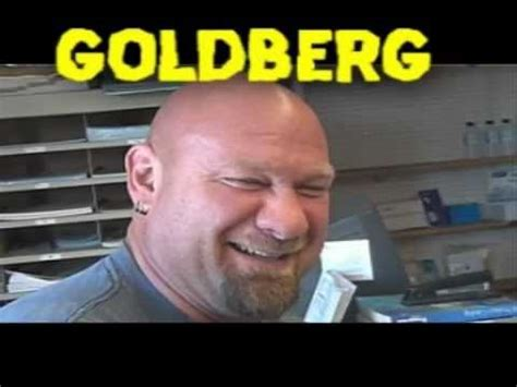 goldberg tattoo bill goldberg gets a new then talks to a caveman