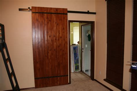 How To Build A Barn Door For Inside Wood Selection How Can I Make A Sliding Interior Barn Door Woodworking Stack Exchange