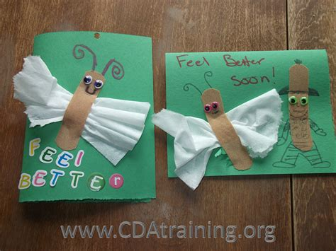 make get well cards germs and illness 123 play and learn child care basics