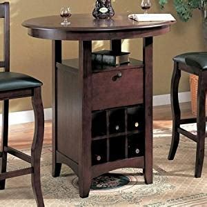 Kitchen Table Wine Storage by Kitchen Bar Tables With Storage Images
