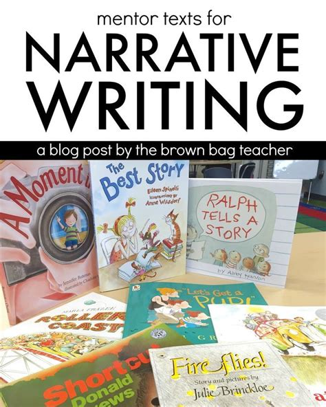 Mentor Texts For Literary Essays by Narrative Writing Mentor Texts Writing Mentor Texts