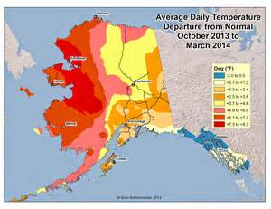 us temperature map alaska cold interior and northern alaska weather climate