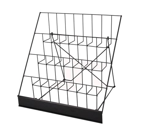 table top display racks wire rack brochure rack tabletop literature display open