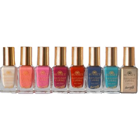 M Sunset barry m sunset nail paint collection for the