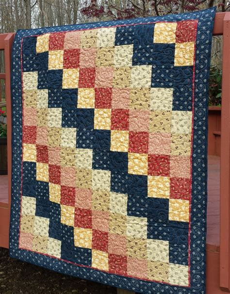 Patchwork Quilt Throw - quilt quilt quilted throw patchwork quilt 48 x 54