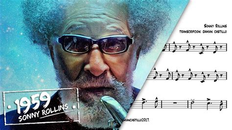sonny rollins st thomas youtube quot st thomas quot sonny rollins sax alto transcription
