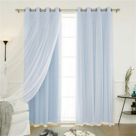 best home fashion curtains best home fashion best home fashion 4 piece gathered tulle