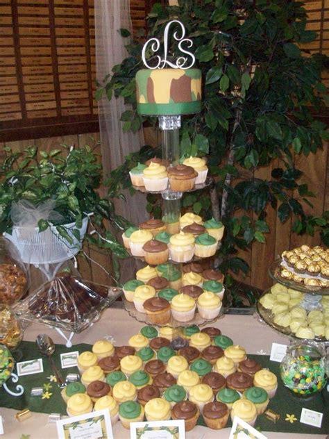 Camo Wedding Decorations by S Cakes Camo Wedding