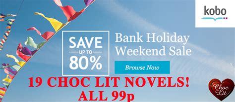 kobo uk bank holiday weekend sale