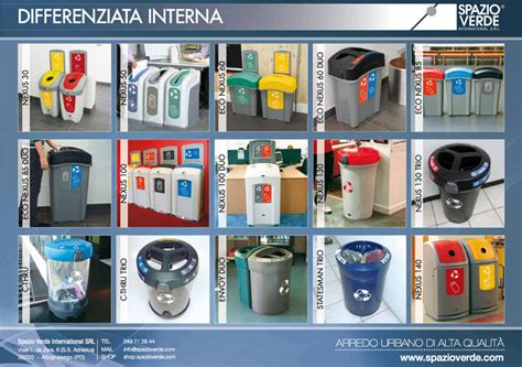 contenitori raccolta differenziata ufficio contenitori raccolta differenziata per uffici e mense