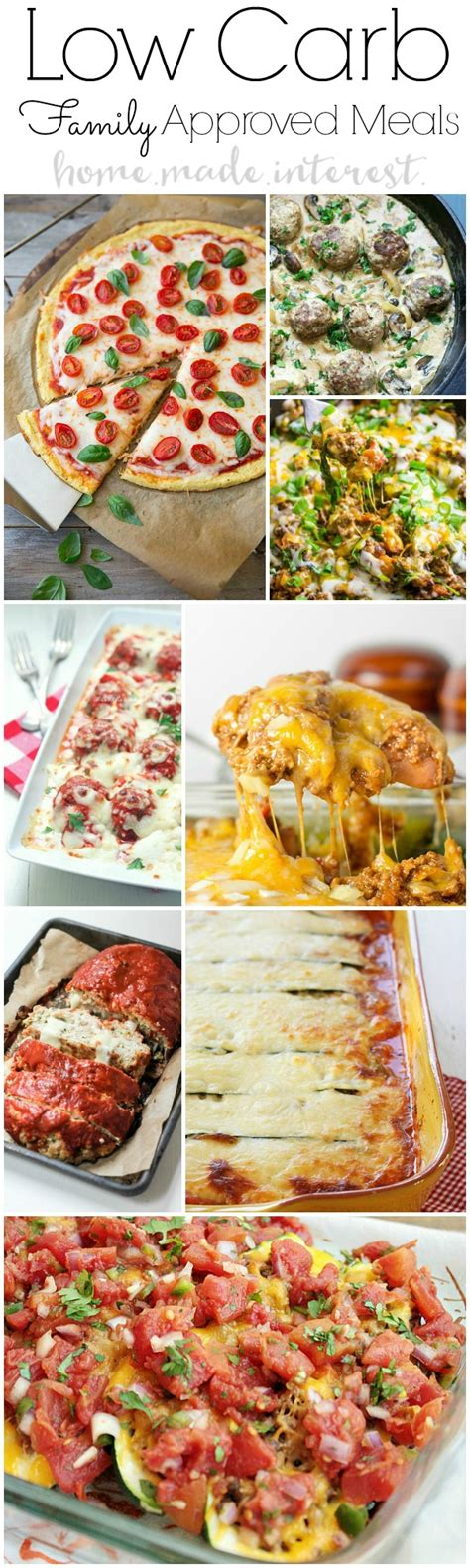 low carb dinner recipes for family home made interest