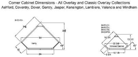 Corner Vanity Dimensions by How To Measure Corner Cabinets Bar Cabinet