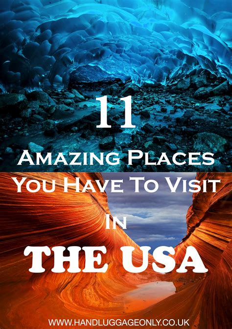places you have to visit in the us 11 amazing places you should visit in the usa but have